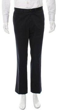 Dries Van Noten Flat Front Straight-Leg Pants