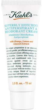 Kiehl's Women's Superbly Efficient Anti-Perspirant & Deodorant Cream - 75ml
