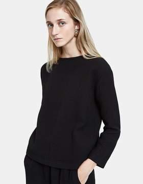 Black Crane Pullover in Black