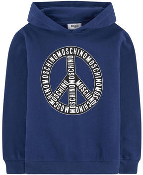 Moschino Loose fit graphic hoodie