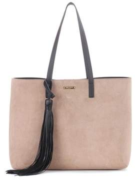 Saint Laurent Suede shopper - NEUTRALS - STYLE