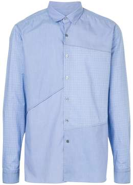 Lanvin patchwork design shirt