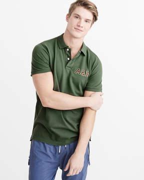 Abercrombie & Fitch Applique Polo