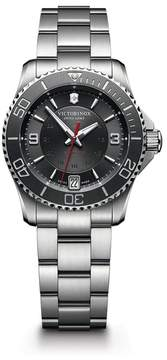 Victorinox Men's Maverick Automatic Small Bracelet Watch, 34mm
