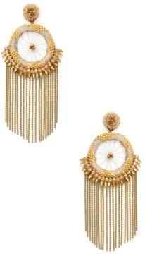 Deepa Gurnani Women's Bead & Chain Statement Earrings