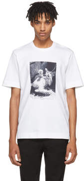 Jil Sander White Mario Sorrenti Edition 004 T-Shirt