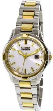 Citizen Women's Eco-Drive EW1964-58A Silver Stainless-Steel Japanese Quartz Fashion Watch