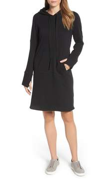 Caslon Hooded French Terry Dress