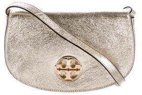 Tory Burch Metallic Jamie Crossbody Bag - GOLD - STYLE