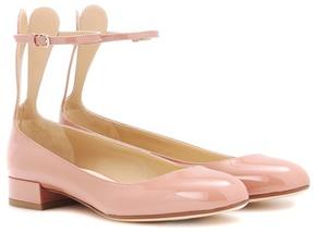 Francesco Russo Patent leather ballerinas