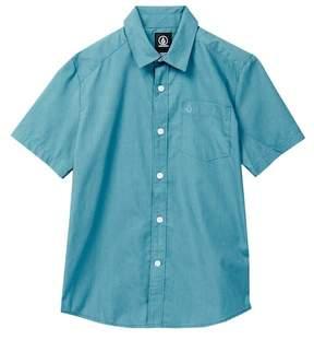 Volcom Short Sleeve Woven Shirt (Big Boys)
