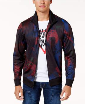 GUESS Men's Paint-Splatter Jacket