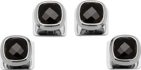 Cufflinks Inc. Faceted Onyx Cushion Studs (Men's)