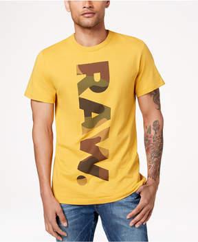 G Star Men's Daba Camouflage Logo-Print T-Shirt