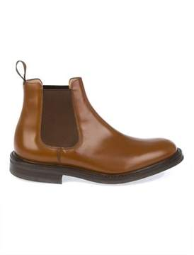 Church's Men's Brown Leather Ankle Boots.