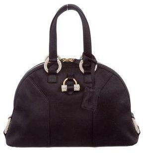 Saint Laurent Mini Muse Bag - BLACK - STYLE