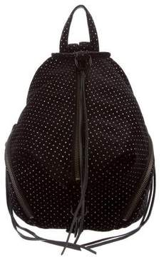 Rebecca Minkoff Mini Velvet Julian Backpack