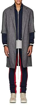 Fear Of God Men's thedrop@barneys: Pinstriped Wool Oversized Cardigan