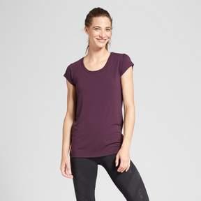 Champion Women's Active Tie-Back T-Shirt Black
