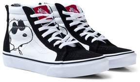 Vans Black SK8 Hi-Top Joe Cool Peanuts Trainers