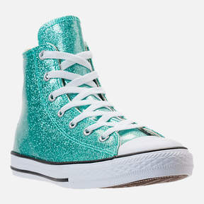Converse Girls' Grade School Chuck Taylor High Top Casual Shoes