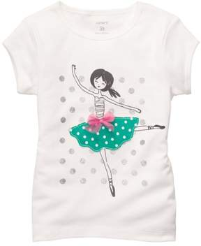 Carter's Baby Girls Ballerina T-Shirt