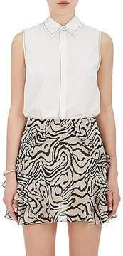 Derek Lam 10 Crosby Women's Cotton Poplin Sleeveless Shirt
