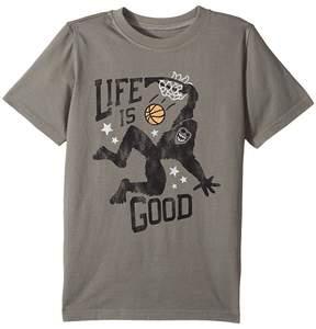 Life is Good Monster Dunk Crusher Tee Boy's T Shirt