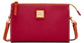 Dooney & Bourke Eva Janine Crossbody Shoulder Bag - CHERRY - STYLE
