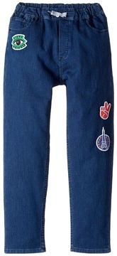 Kenzo Denim Emojis Pants Boy's Jeans