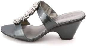 Karen Scott Women's Koraa T-strap Slide Sandals.
