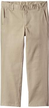 Nautica Husky Flat Front Twill Stretch Pants Boy's Casual Pants
