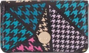 Lodis Houndstooth RFID Mini Card Case (Women's)