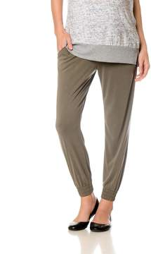 A Pea in the Pod Splendid Under Belly Straight Leg Maternity Jogger Pant