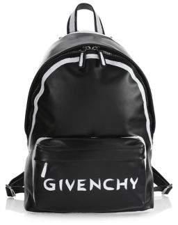 Givenchy Graffiti Logo Backpack