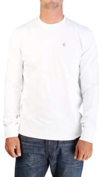 Christian Dior Men's 'The Cold One' Crewneck Sweatshirt White