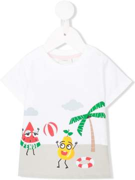 Fendi beach print T-shirt