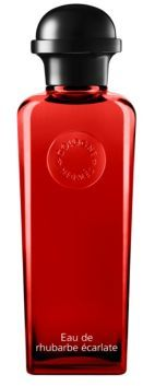 HERMES Eau de Rhubarbe Ecarlate Eau de Cologne Bottle with Pump/6.7 oz.