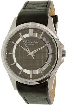 Kenneth Cole Leather Mens Watch 10022286