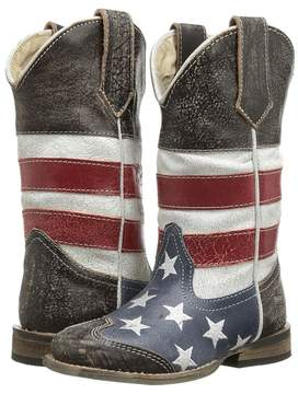 Roper American Flag Square Toe Boot Cowboy Boots