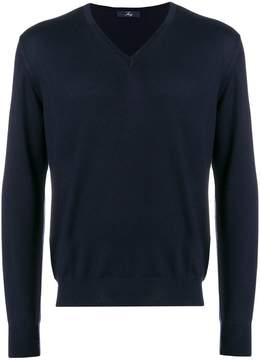 Fay V neck sweatshirt