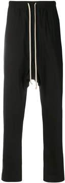 Rick Owens drop-crotch slim trousers