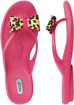 OKA b. Fuchsia Tiffany Flip-Flop - Women