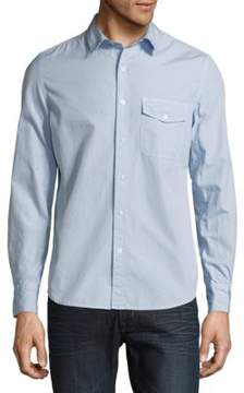 Save Khaki Classic Cotton Casual Button-Down Shirt