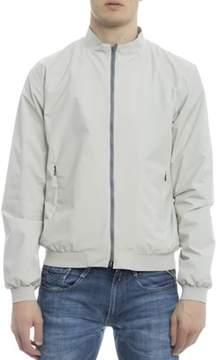 Herno Men's White Polyester Outerwear Jacket.