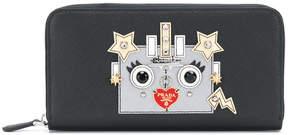 Prada robot motif wallet