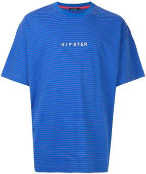 GUILD PRIME striped Hipster T-shirt