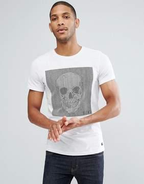 Blend of America Skull Stripes T-Shirt