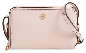 Tory Burch Mini Parker Leather Crossbody Bag - Pink - PINK - STYLE
