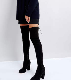 Asos KINGSHIP Heeled Over The Knee Boots